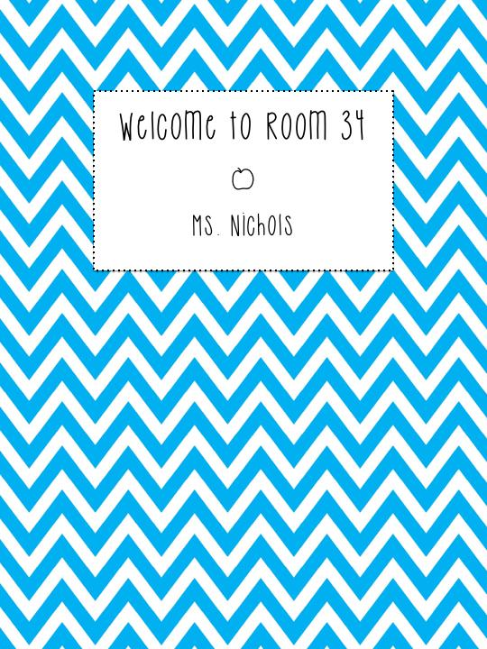 Welcome to Room 34